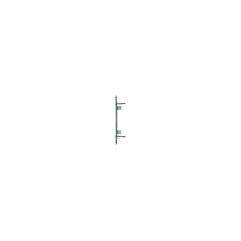 Hauteur : 260 mm Entraxe lacets : 128 DUBOIS Fiche /à lacets fer /Ø13 vieux laiton /à tourillons Entraxe goujon : 64